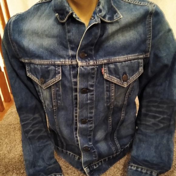 Levi's Jean Denim Jacket 70500 Women's Large